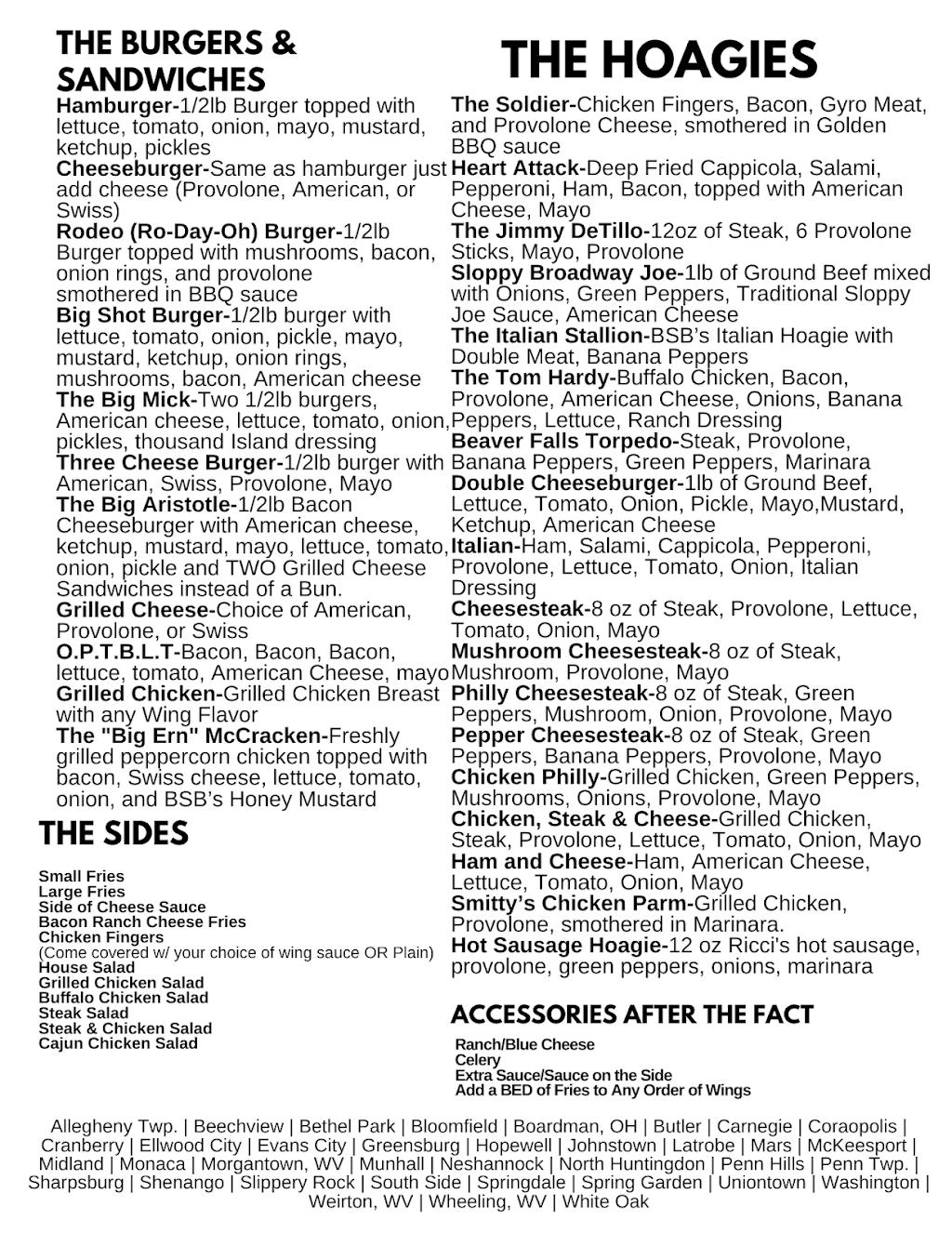 Big Shot Bobs House of Wings - Latrobe | restaurant | 702 Industrial Blvd, Latrobe, PA 15650, USA | 7245204450 OR +1 724-520-4450