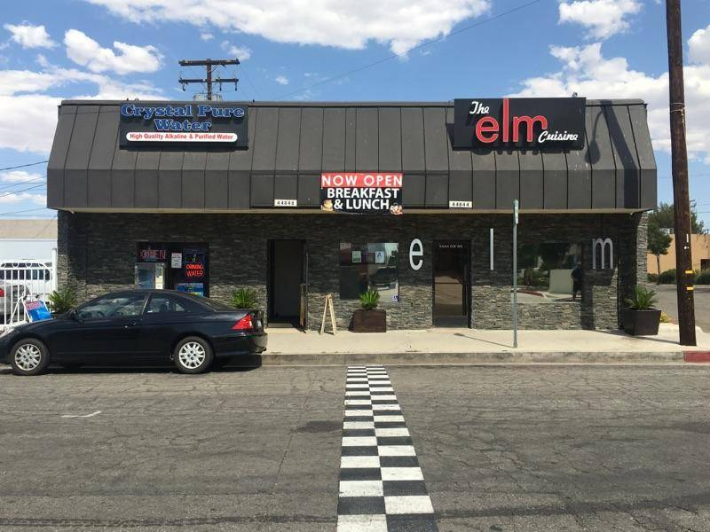 The Elm Cuisine   restaurant   44844 Elm Ave, Lancaster, CA 93534, USA   6619414069 OR +1 661-941-4069