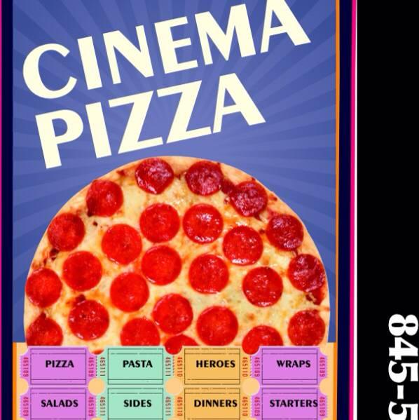 Cinema Pizza | restaurant | 215 Quassaick Ave #105, New Windsor, NY 12553, USA | 8455630280 OR +1 845-563-0280