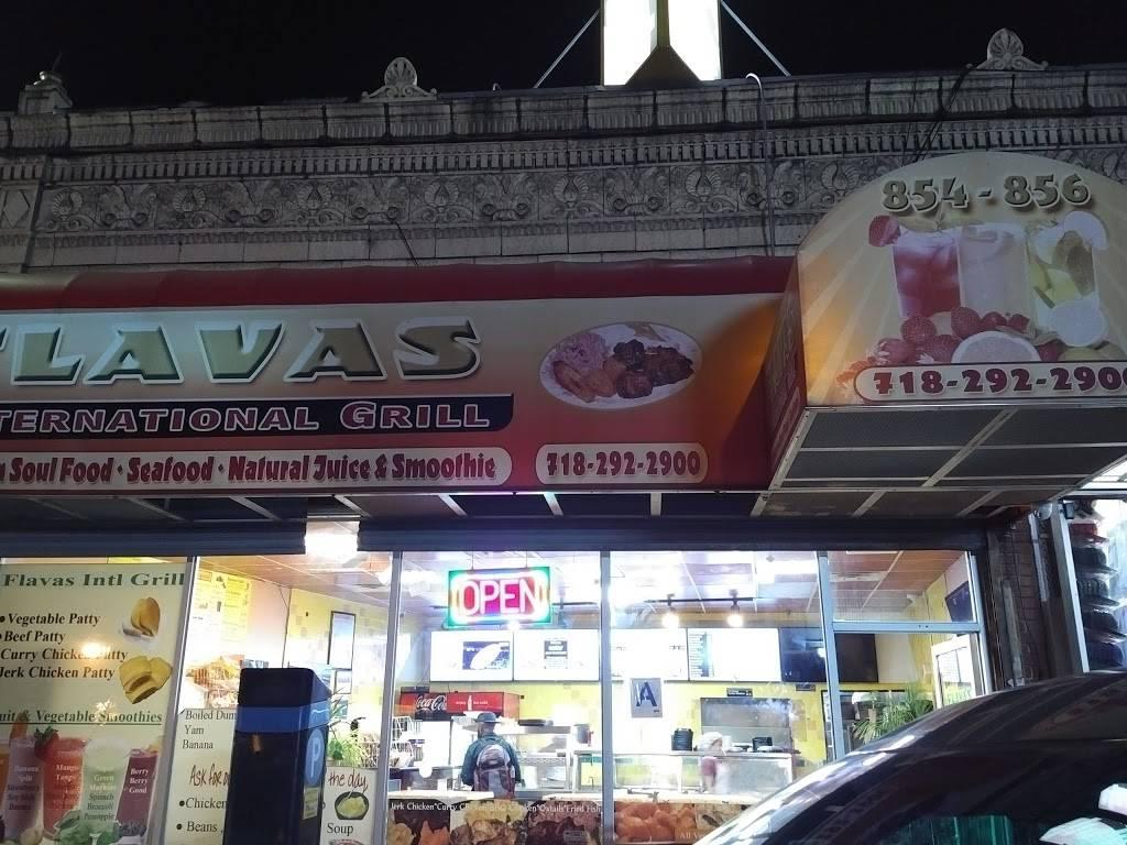 Flavas International Grill   restaurant   854 Gerard Ave, Bronx, NY 10451, USA   7182922900 OR +1 718-292-2900
