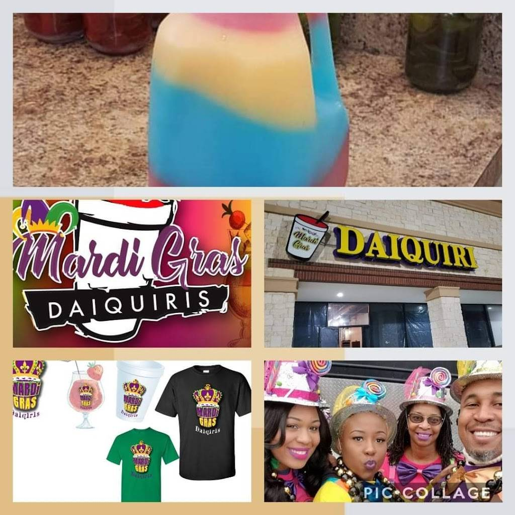 Mardi Gras Daiquiris | restaurant | 1336 N Galloway Ave, Mesquite, TX 75149, USA | 2147773099 OR +1 214-777-3099