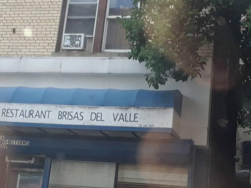 Restaurante Brisas Del Valle | restaurant | 269 Monticello Ave, Jersey City, NJ 07306, USA | 2012083484 OR +1 201-208-3484