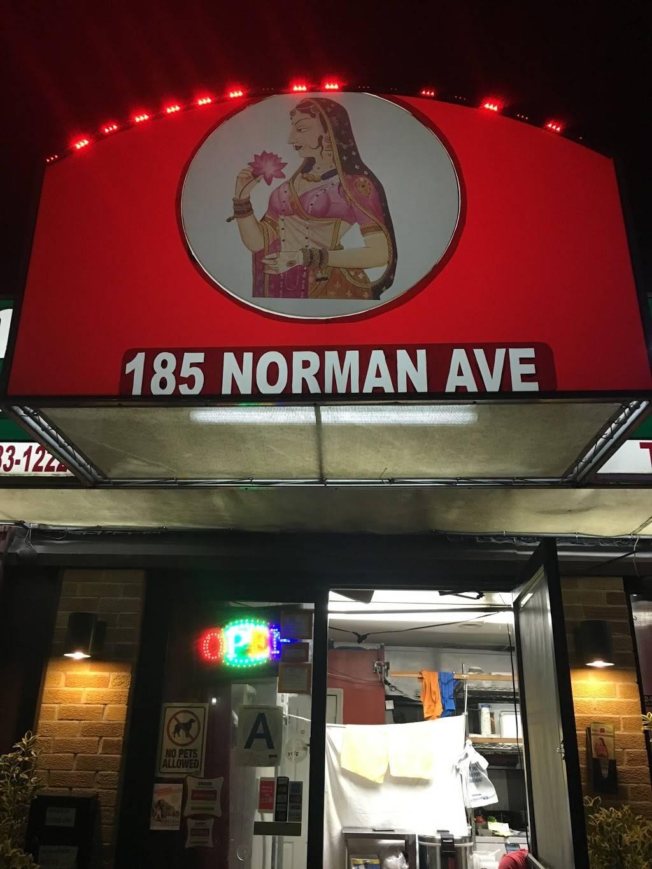 Moharani   restaurant   185 Norman Ave, Brooklyn, NY 11222, USA   7183831235 OR +1 718-383-1235