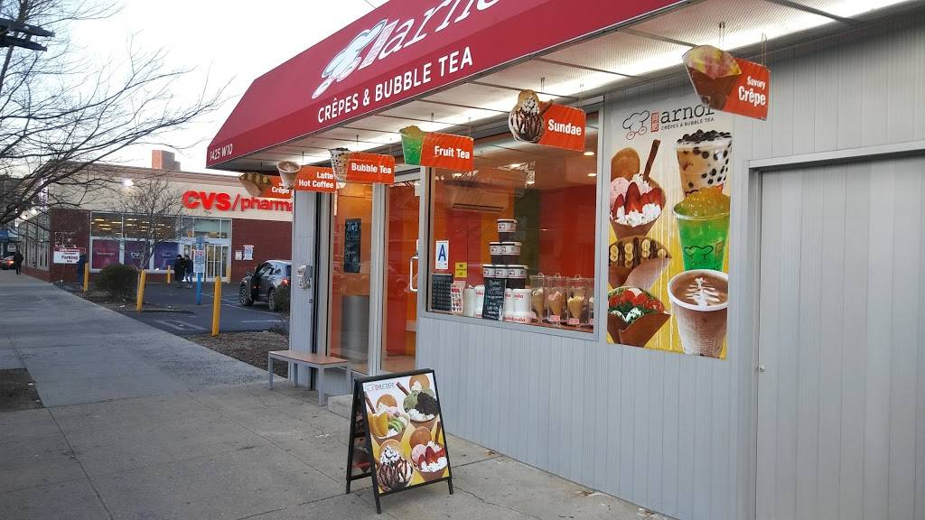 Arnor Crepes & Bubble Tea | cafe | 1425 W 10th St, Brooklyn, NY 11204, USA | 3475548733 OR +1 347-554-8733