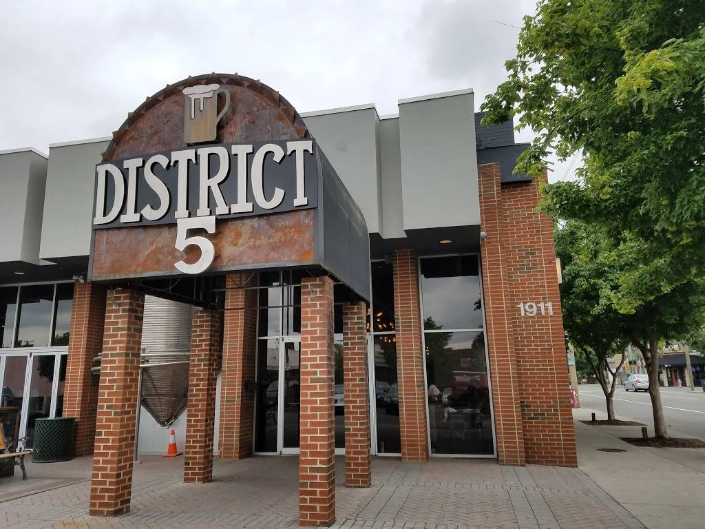 District 5 | restaurant | 1911 W Main St #4521, Richmond, VA 23220, USA | 8046581113 OR +1 804-658-1113