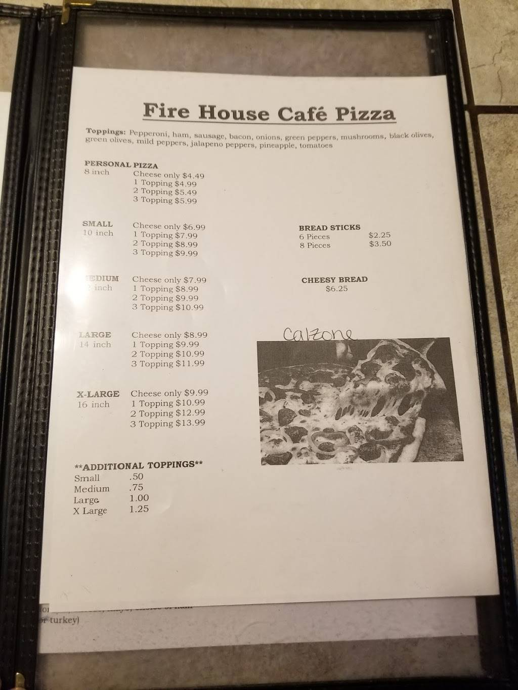 Firehouse Cafe | restaurant | 4084 Huron St, North Branch, MI 48461, USA | 8106882161 OR +1 810-688-2161