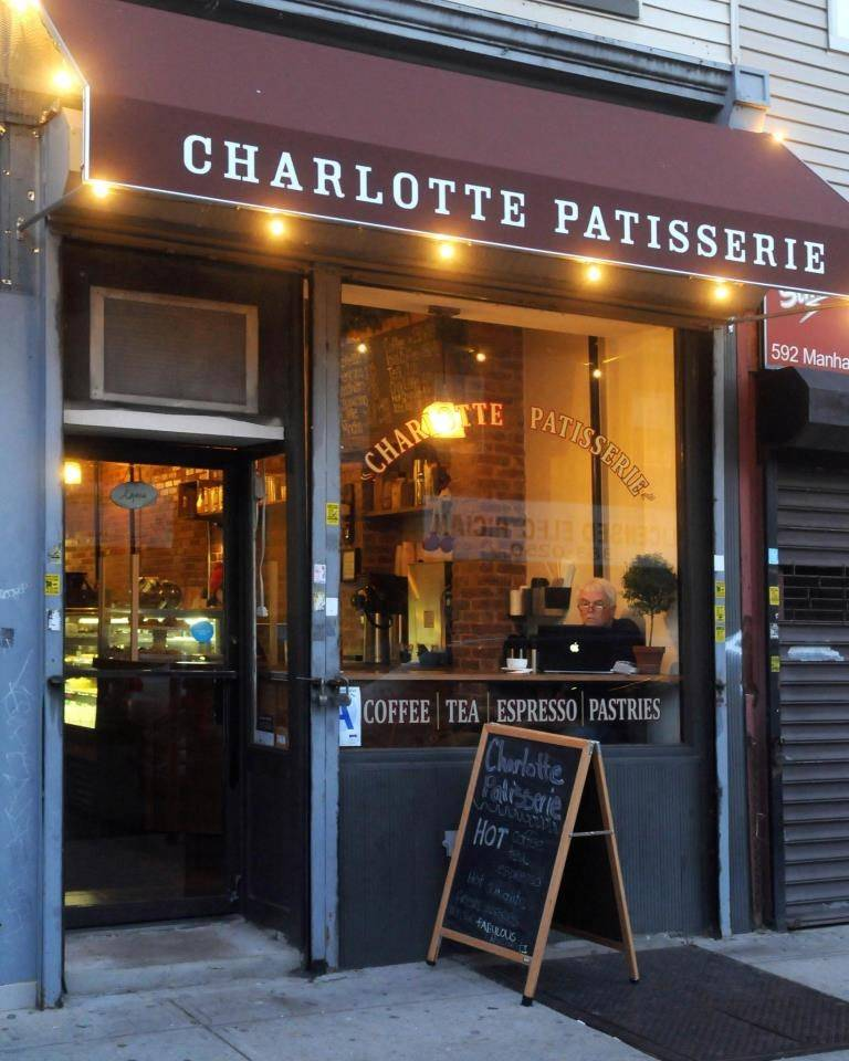 Charlotte Patisserie | cafe | 596 Manhattan Ave, Brooklyn, NY 11222, USA | 7183838313 OR +1 718-383-8313