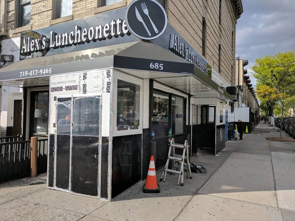 Alex Luncheonette | restaurant | 685 Knickerbocker Ave, Brooklyn, NY 11221, USA | 7184179465 OR +1 718-417-9465