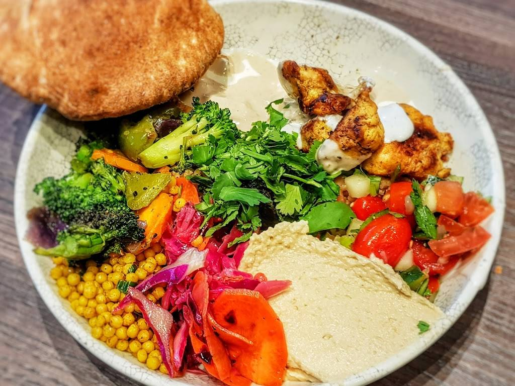 Roti Modern Mediterranean   restaurant   4999 Old Orchard Shop Center East Ring Rd, Skokie, IL 60077, USA   8479726874 OR +1 847-972-6874