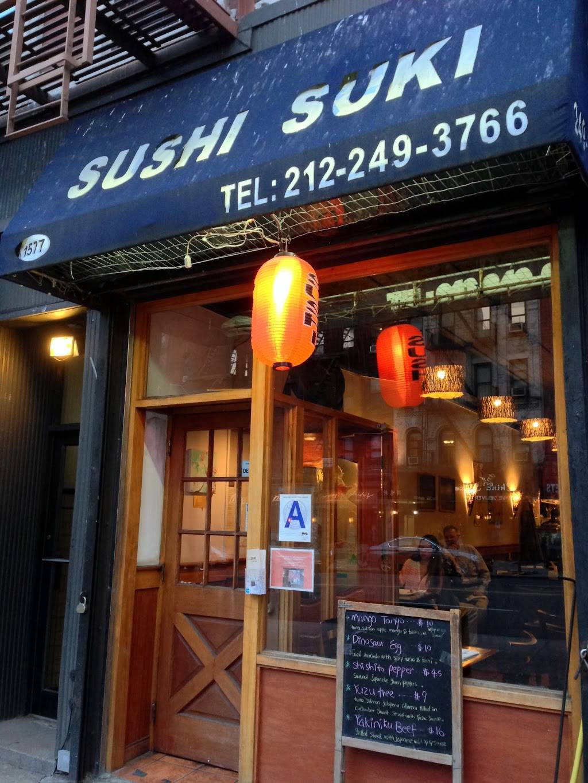 Sushi Suki | restaurant | 1577 York Ave, New York, NY 10028, USA | 2122493766 OR +1 212-249-3766