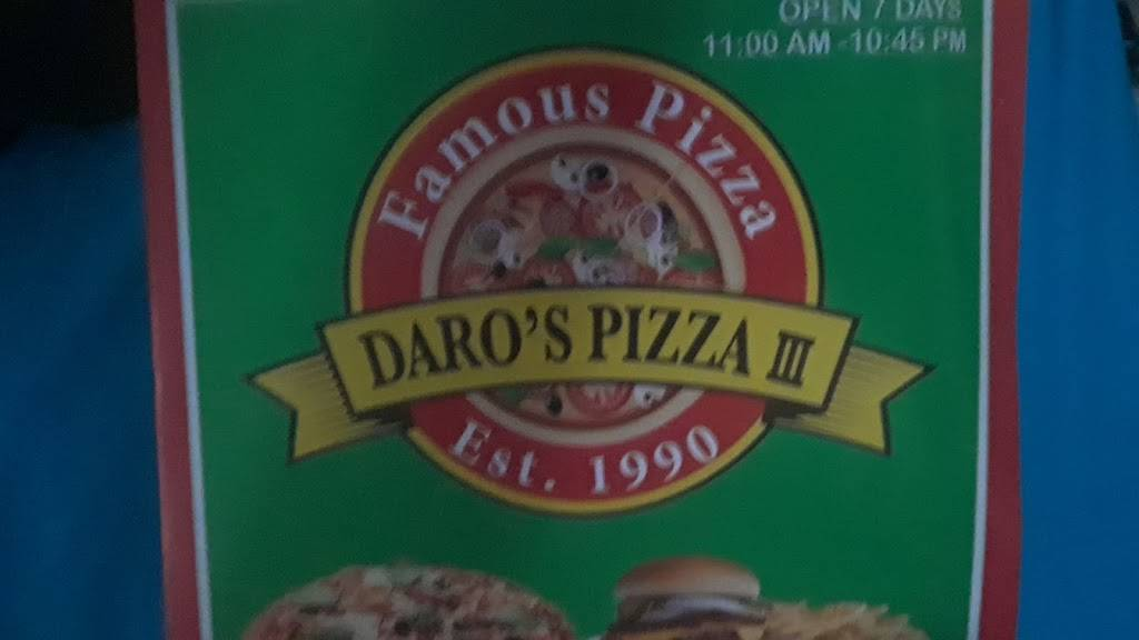 Daros Pizza 3   restaurant   1579A Westchester Ave, Bronx, NY 10472, USA   7188611333 OR +1 718-861-1333