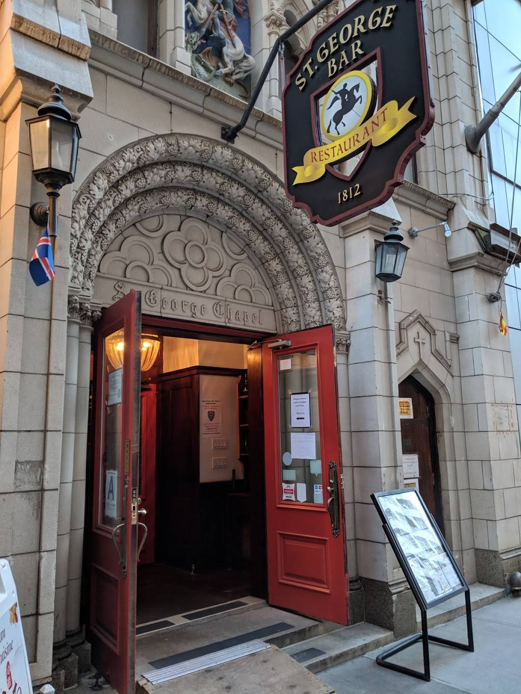 St. George Tavern   restaurant   103 Washington St, New York, NY 10006, USA   2122409868 OR +1 212-240-9868
