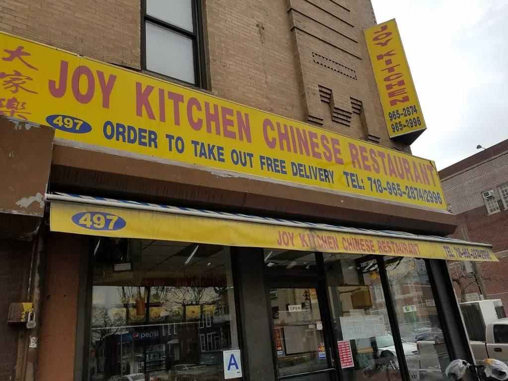 Joy Kitchen   restaurant   497 7th Avenue A, Brooklyn, NY 11215, USA   7189652874 OR +1 718-965-2874