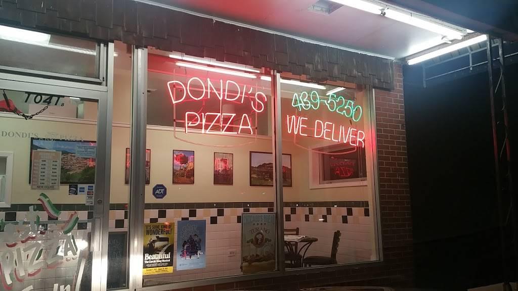 Dondis Pizza   restaurant   1041 S Arlington Heights Rd b, Arlington Heights, IL 60005, USA   8474395250 OR +1 847-439-5250