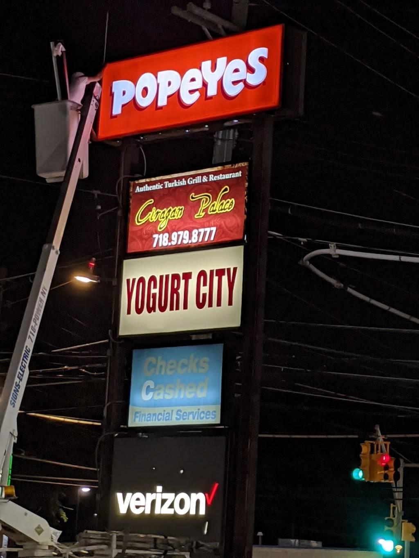 Popeyes   restaurant   2508 Hylan Blvd, Staten Island, NY 10306, USA