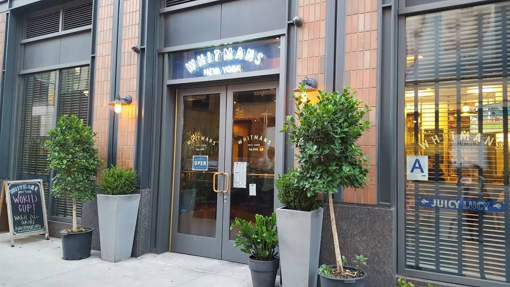 Whitmans Hudson Yards | restaurant | 331 10th Ave, New York, NY 10001, USA | 2128371416 OR +1 212-837-1416