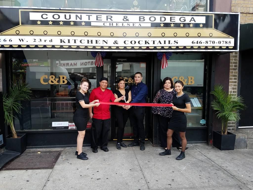 Counter & Bodega | restaurant | 266 W 23rd St, New York, NY 10011, USA | 6468700785 OR +1 646-870-0785