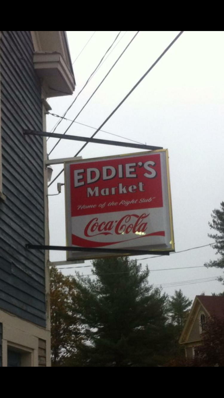 Eddies Market   restaurant   1147 Pequawket Trail, Steep Falls, ME 04085, USA   2076755030 OR +1 207-675-5030