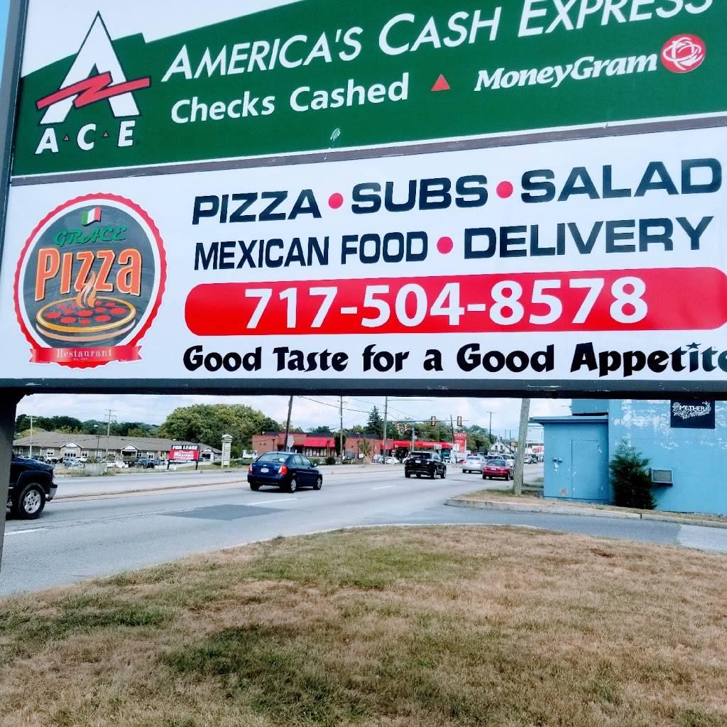 Grace Pizza | restaurant | 1228 Lincoln Way E, Chambersburg, PA 17201, USA | 7175048578 OR +1 717-504-8578