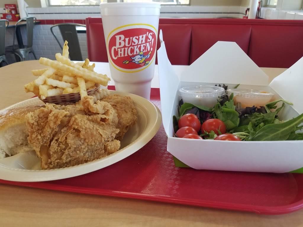 Bushs Chicken   restaurant   2701 E State Hwy 21, Bryan, TX 77808, USA   9792090115 OR +1 979-209-0115