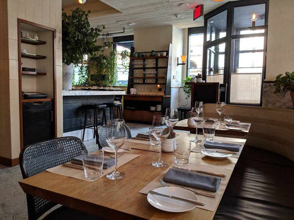 Little Park | restaurant | 85 W Broadway, New York, NY 10007, USA | 2122204110 OR +1 212-220-4110