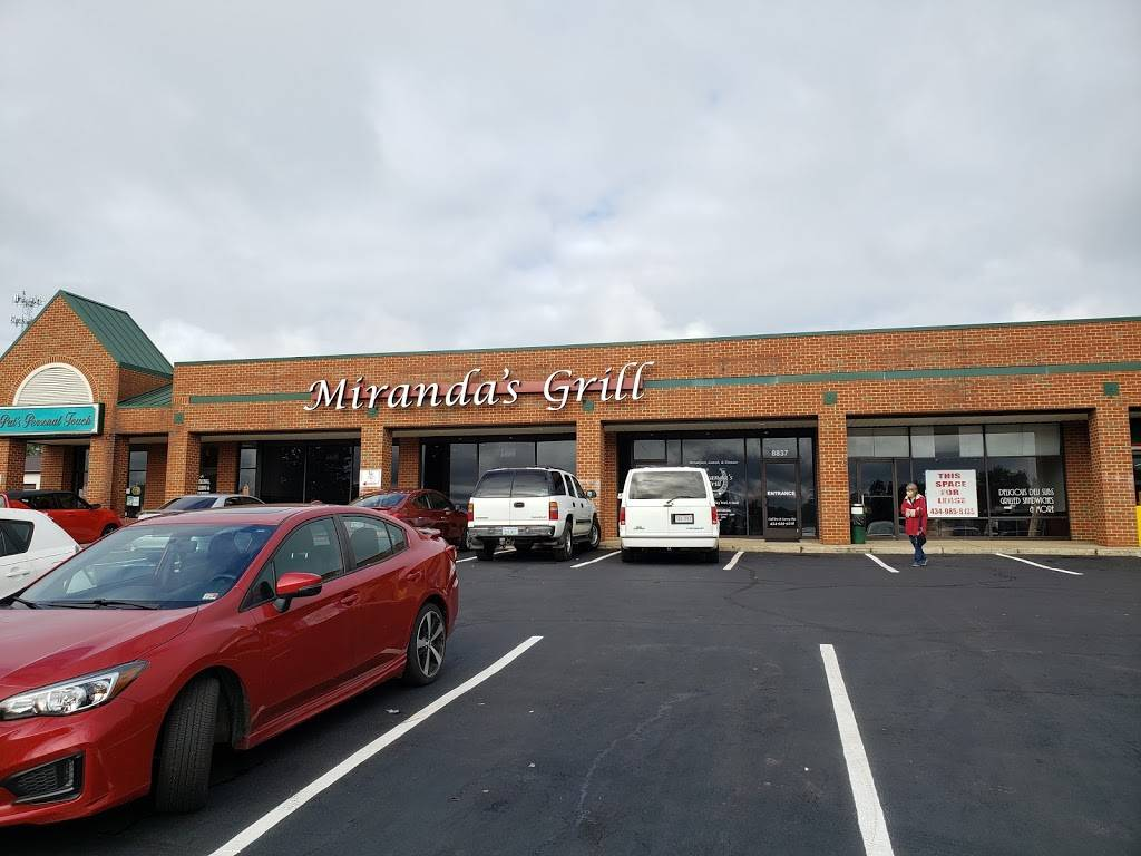 Mirandas Grill | restaurant | 8837 Seminole Trail, Ruckersville, VA 22968, USA | 4349399218 OR +1 434-939-9218