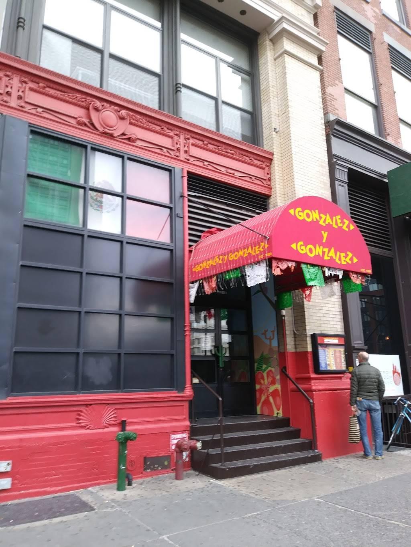 Gonzalez y Gonzalez | night club | 192 Mercer St, New York, NY 10012, USA | 2124738787 OR +1 212-473-8787