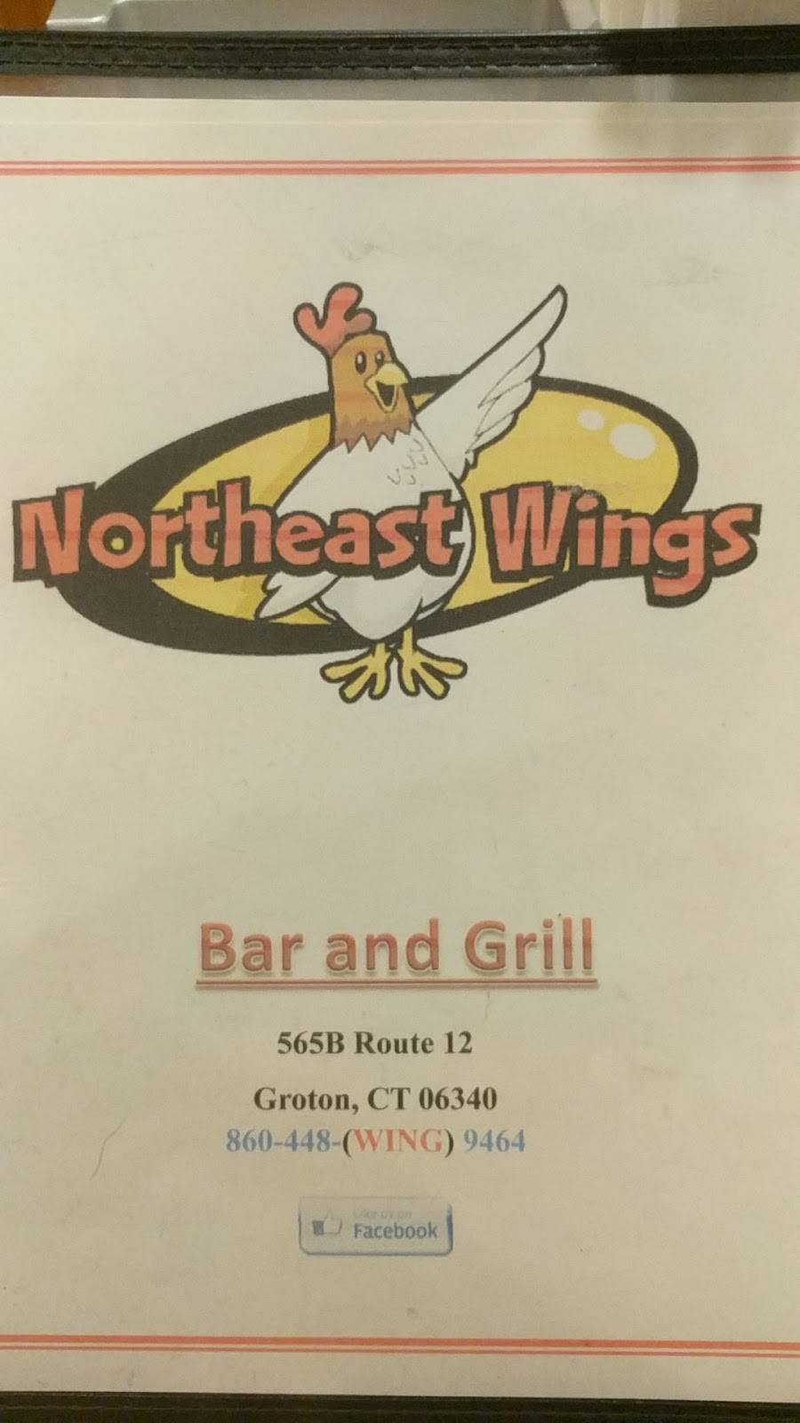 Northeast Wings | restaurant | 565 CT-12, Groton, CT 06340, USA | 8604489464 OR +1 860-448-9464