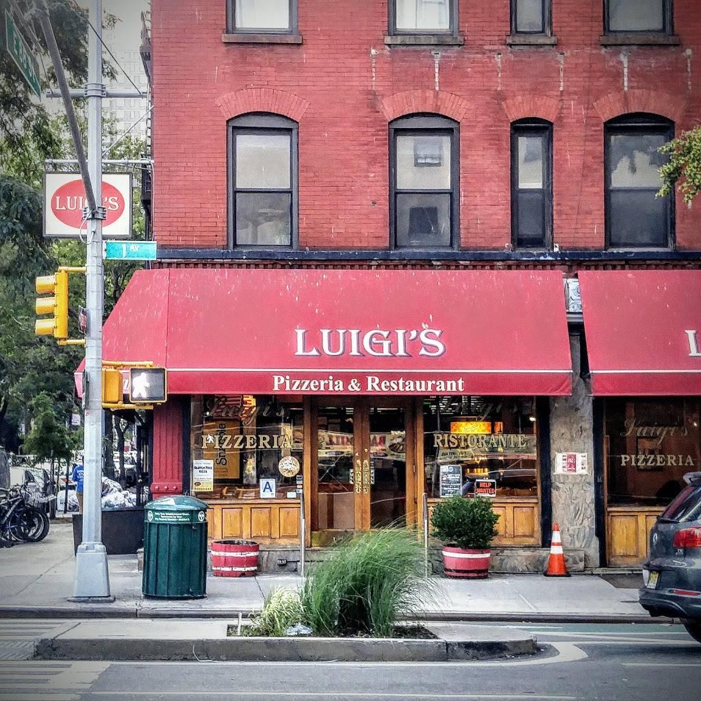 Luigis | restaurant | 1701 1st Avenue, New York, NY 10128, USA | 2124101910 OR +1 212-410-1910