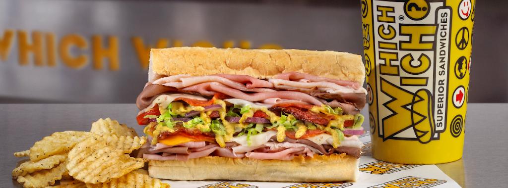 Which Wich Superior Sandwiches | restaurant | 720 S William E Crawford Ave, Fate, TX 75132, USA