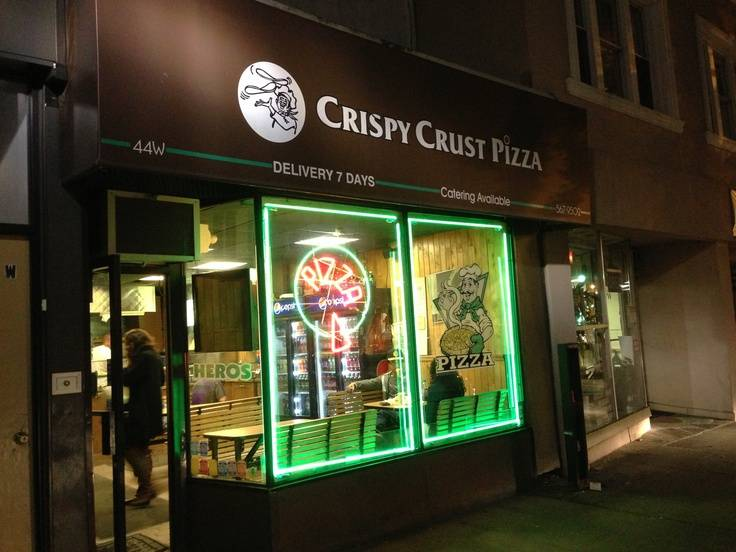 Crispy Crust Pizza | restaurant | 44 W Palisade Ave, Englewood, NJ 07631, USA | 2015679502 OR +1 201-567-9502