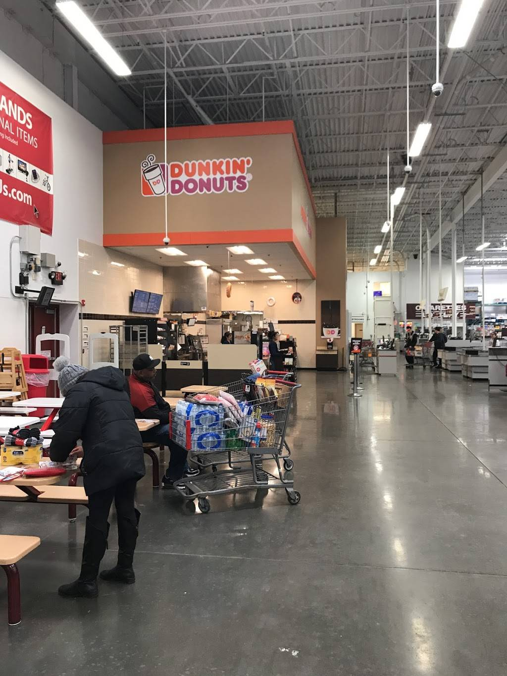 Dunkin Donuts | cafe | BJs Wholesale Club, 2100 88th St, North Bergen, NJ 07047, USA | 2012951300 OR +1 201-295-1300