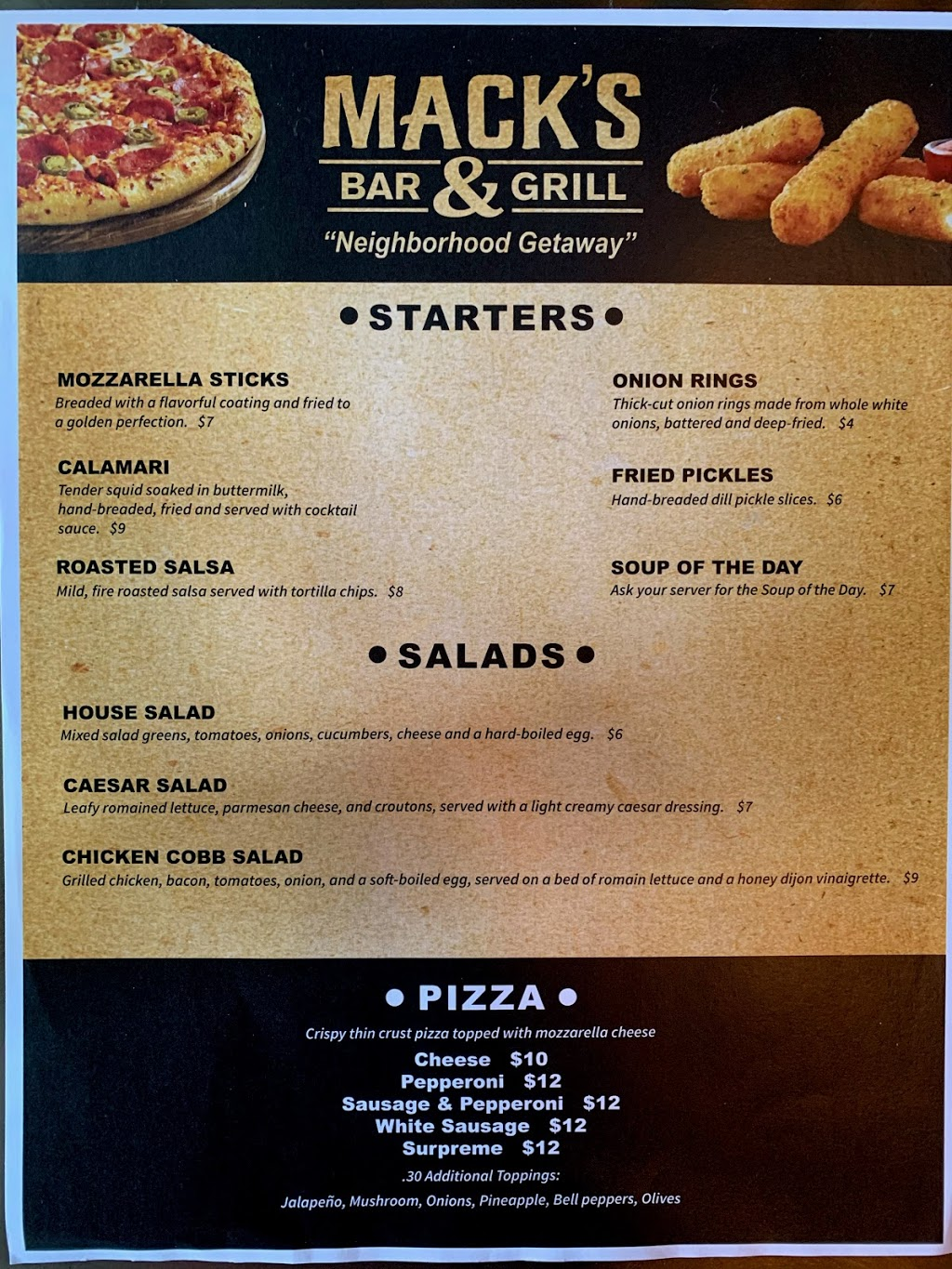 Macks Bar and Grill   restaurant   5513 Pershing Ave, St. Louis, MO 63112, USA   3143548436 OR +1 314-354-8436
