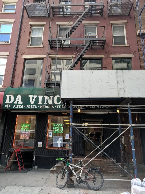 Da Vinci | restaurant | 44 Water St, New York, NY 10004, USA | 2126352424 OR +1 212-635-2424
