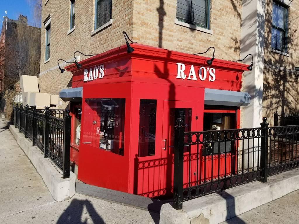 Raos | restaurant | 455 E 114th St, New York, NY 10029, USA | 2127226709 OR +1 212-722-6709
