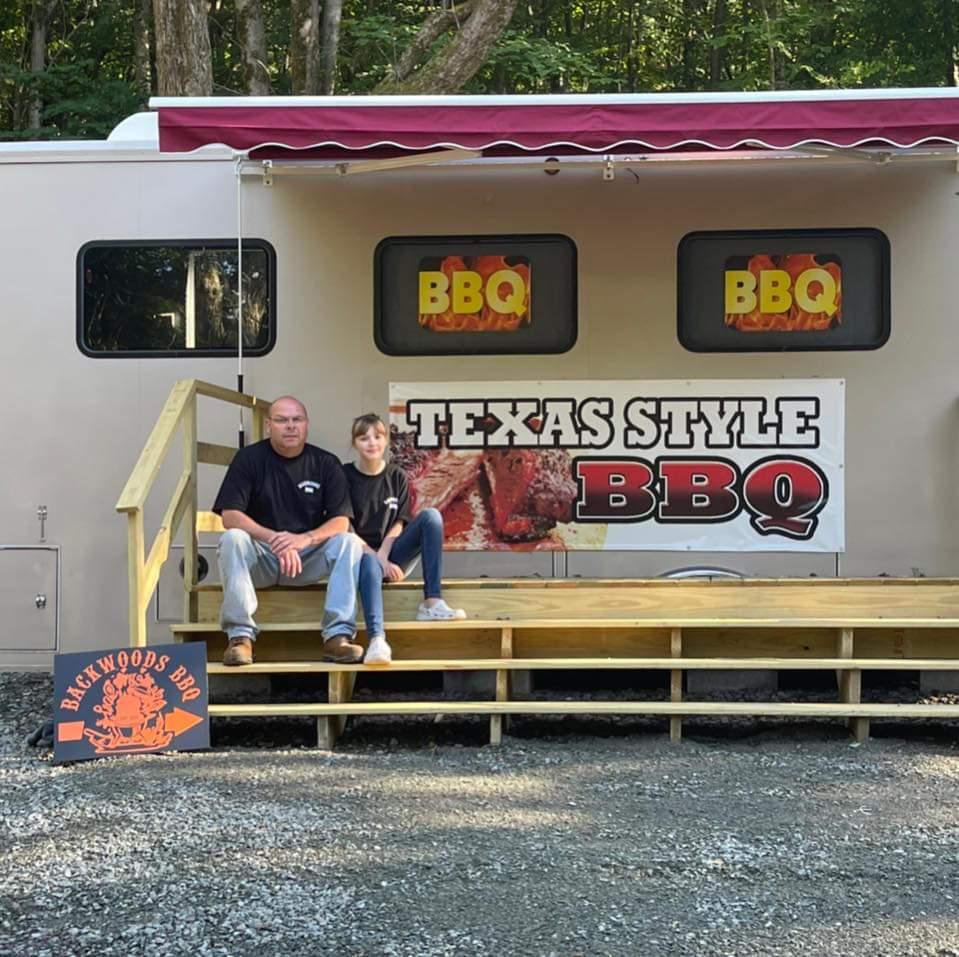 Backwoods BBQ   restaurant   244 E Mountain Rd, Herrick Center, PA 18430, USA   5704485001 OR +1 570-448-5001