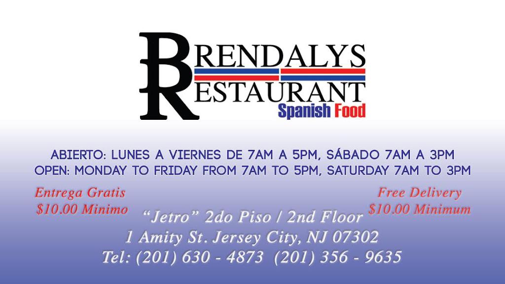 Brendalys Restaurant | restaurant | 1 Amity St 2nd Floor, Jersey City, NJ 07302, USA | 2016304873 OR +1 201-630-4873