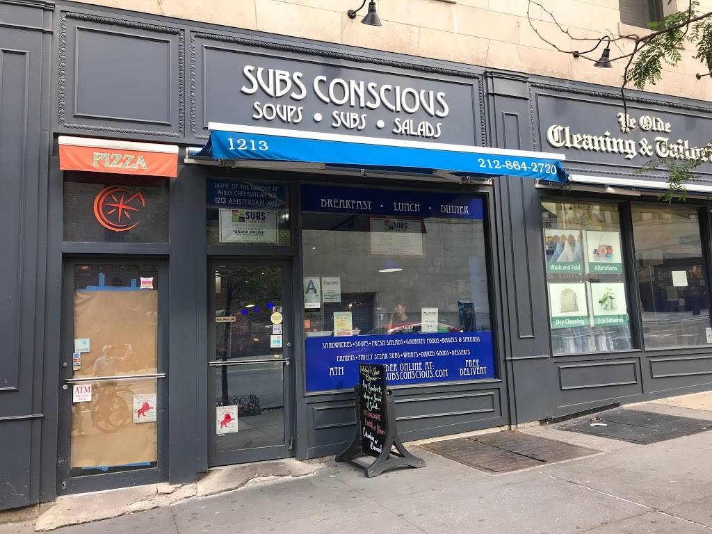 Subsconscious | meal takeaway | 1213 Amsterdam Ave, New York, NY 10027, USA | 2128642720 OR +1 212-864-2720