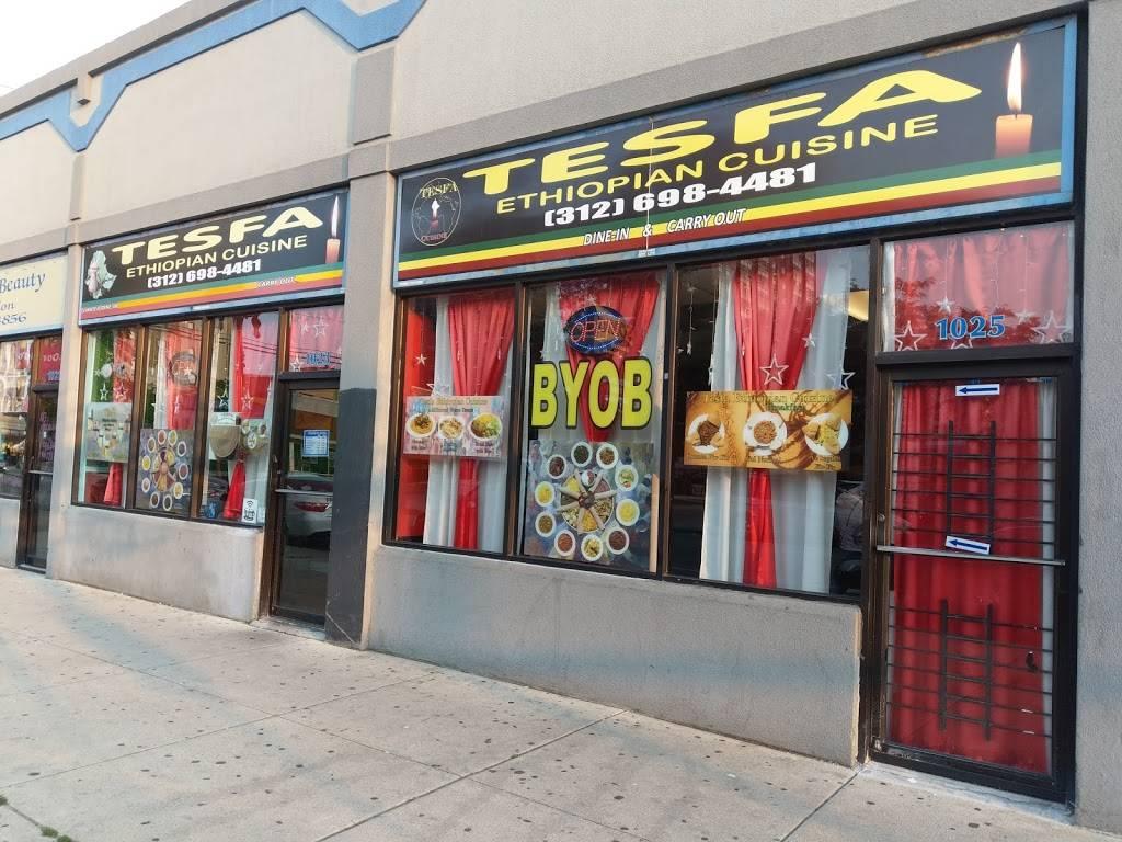 Tesfa Ethiopian Cuisine   restaurant   1023 W Wilson Ave, Chicago, IL 60640, USA   3126984481 OR +1 312-698-4481