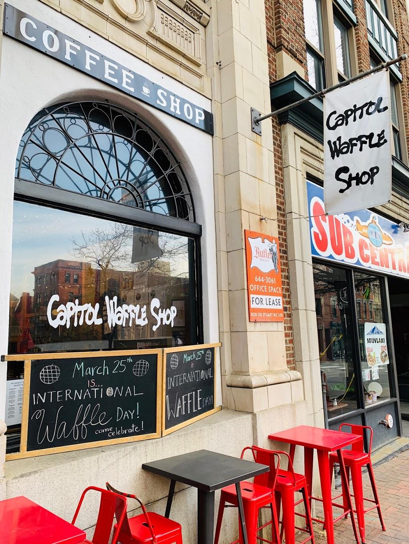 Capitol Waffle Shop | restaurant | 1110 E Main St, Richmond, VA 23219, USA | 8046443052 OR +1 804-644-3052