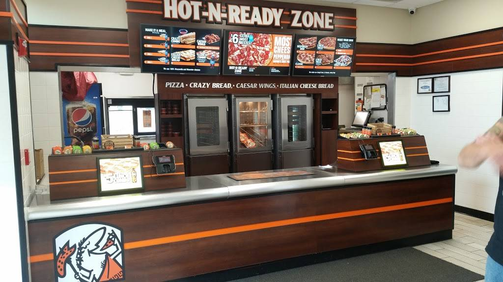 Little Caesars Pizza | meal takeaway | 200 Lindow Ave, Marengo, IL 60152, USA | 8155683100 OR +1 815-568-3100