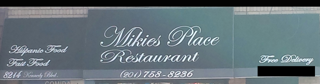 Mikies Place Restaurant | restaurant | 8214 John F. Kennedy Blvd, North Bergen, NJ 07047, USA | 2017588236 OR +1 201-758-8236