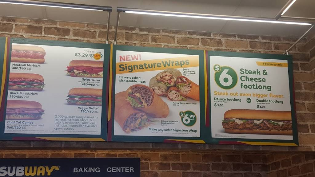 Subway Restaurants | restaurant | 9237 Waukegan Rd, Morton Grove, IL 60053, USA | 2242518523 OR +1 224-251-8523