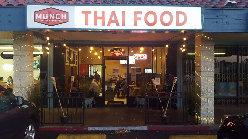Munch Thai Food & Sweet Tea | cafe | 880 W Lincoln Ave, Anaheim, CA 92805, USA | 7149562830 OR +1 714-956-2830