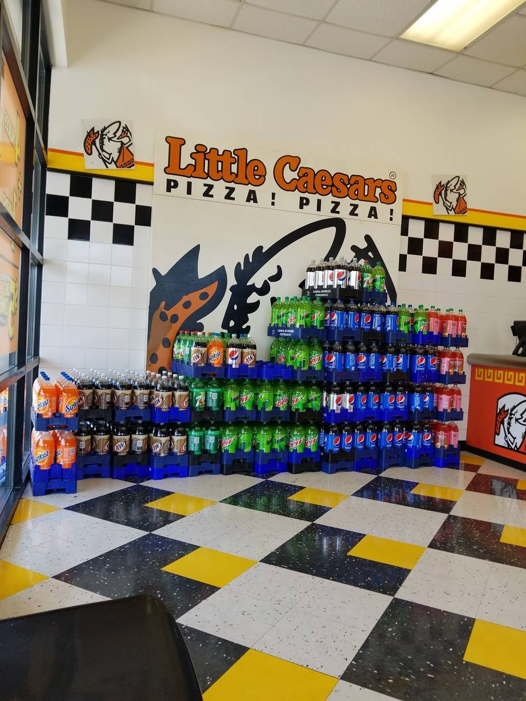 Little Caesars Pizza | meal delivery | 1933 N 2000 W SPACE H, Clinton, UT 84015, USA | 8018252433 OR +1 801-825-2433