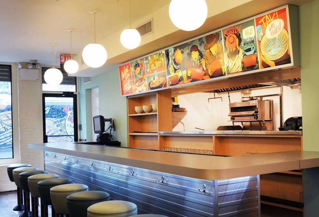Ivan Ramen Slurp Shop | restaurant | 600 11th Ave, New York, NY 10036, USA | 2125827942 OR +1 212-582-7942