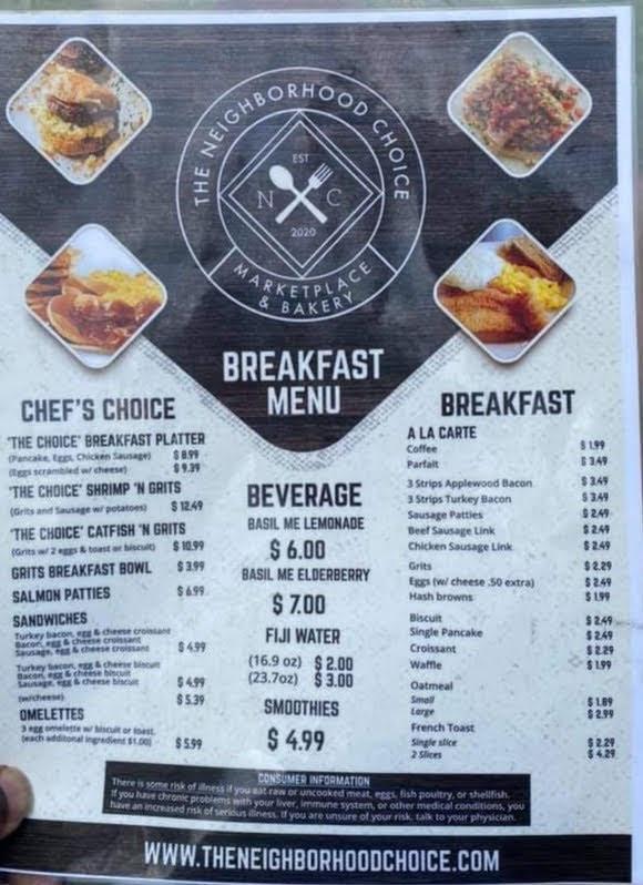 The Neighborhood Choice Marketplace & Bakery | restaurant | 1085 Katherwood Dr SW, Atlanta, GA 30310, USA