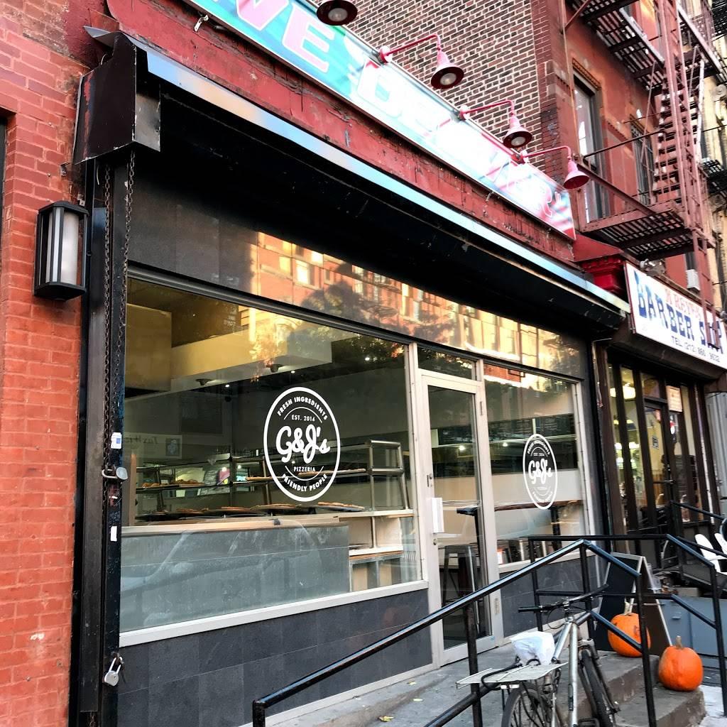 G&Js Pizzeria | restaurant | 188e E 104th St, New York, NY 10029, USA | 2123694800 OR +1 212-369-4800
