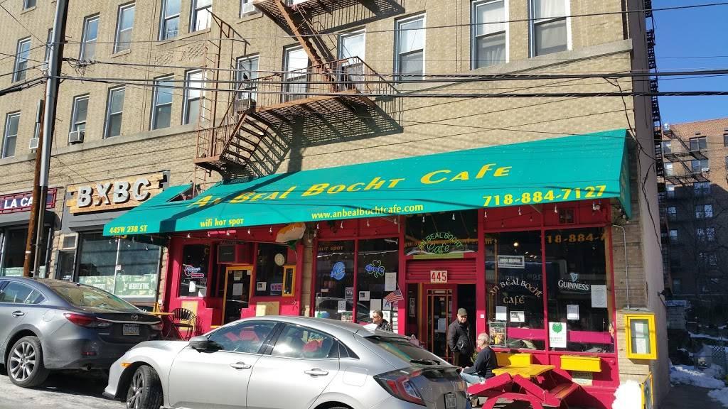 An Beal Bocht Cafe | cafe | 445 W 238th St, Bronx, NY 10463, USA | 7188847127 OR +1 718-884-7127