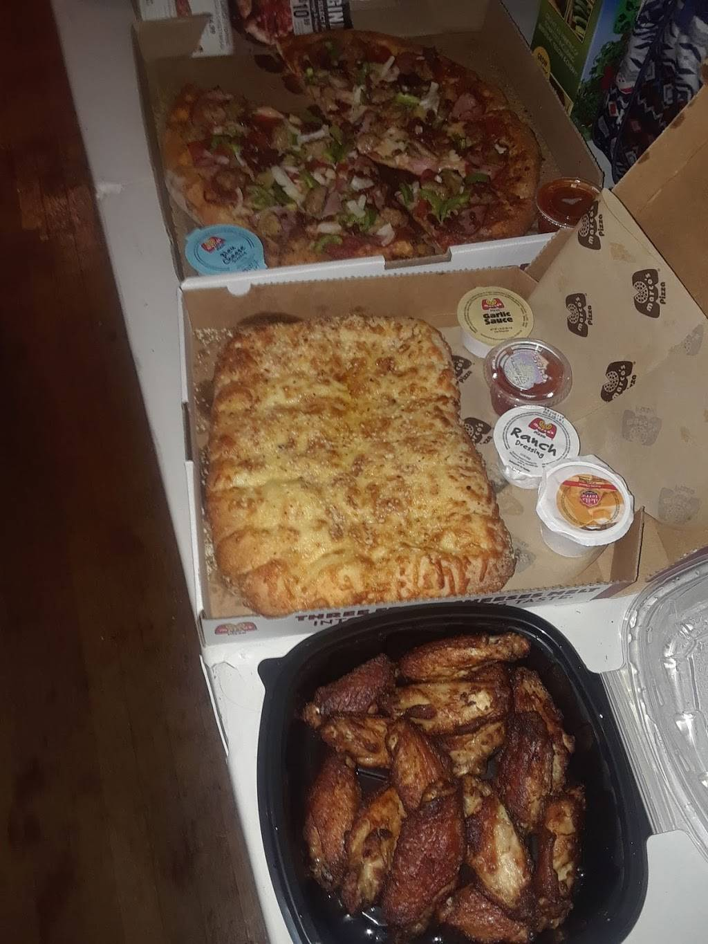 Marcos Pizza | meal delivery | 615 S Scatterfield Rd, Anderson, IN 46012, USA | 7656435900 OR +1 765-643-5900